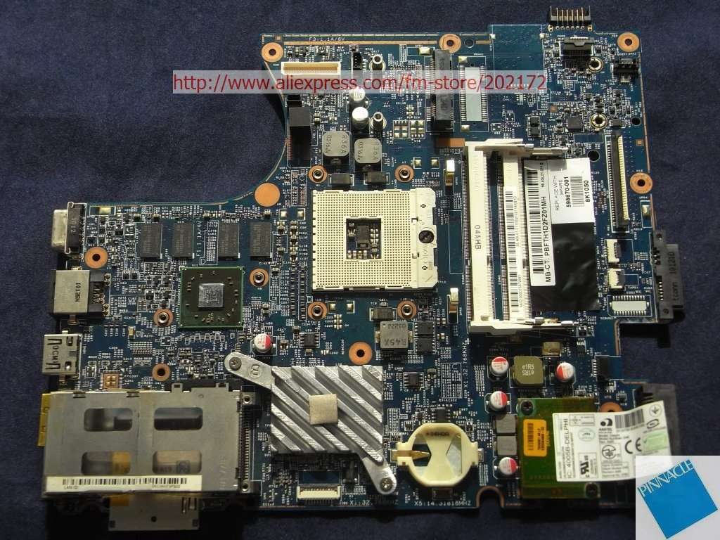 598670-001 Motherboard  for HP ProBook 4520S 4720S  48.4GK06.011 H9265-1  tested OK 574680 001 1gb system board fit hp pavilion dv7 3089nr dv7 3000 series notebook pc motherboard 100% working