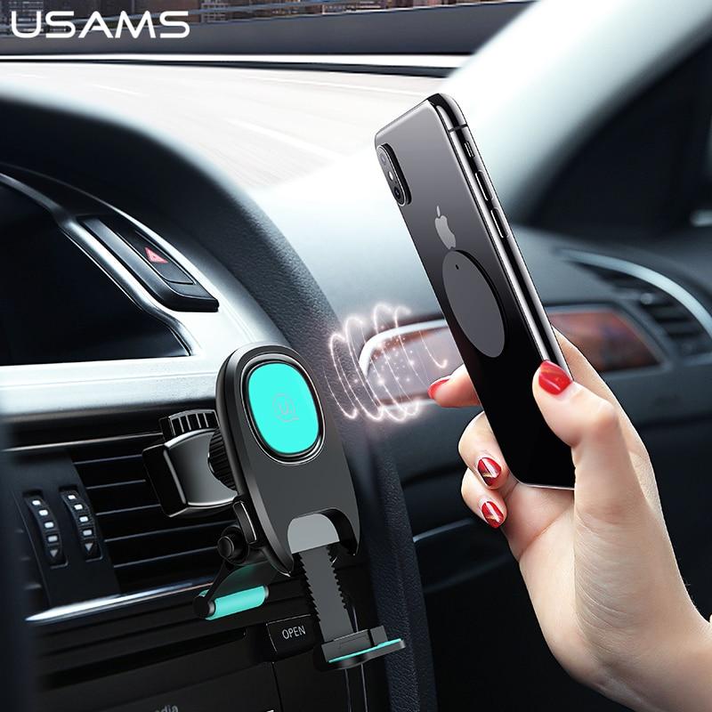 USAMS Car-Holder Magnetic-Phone Gravity Air-Vent-Mount Flexible