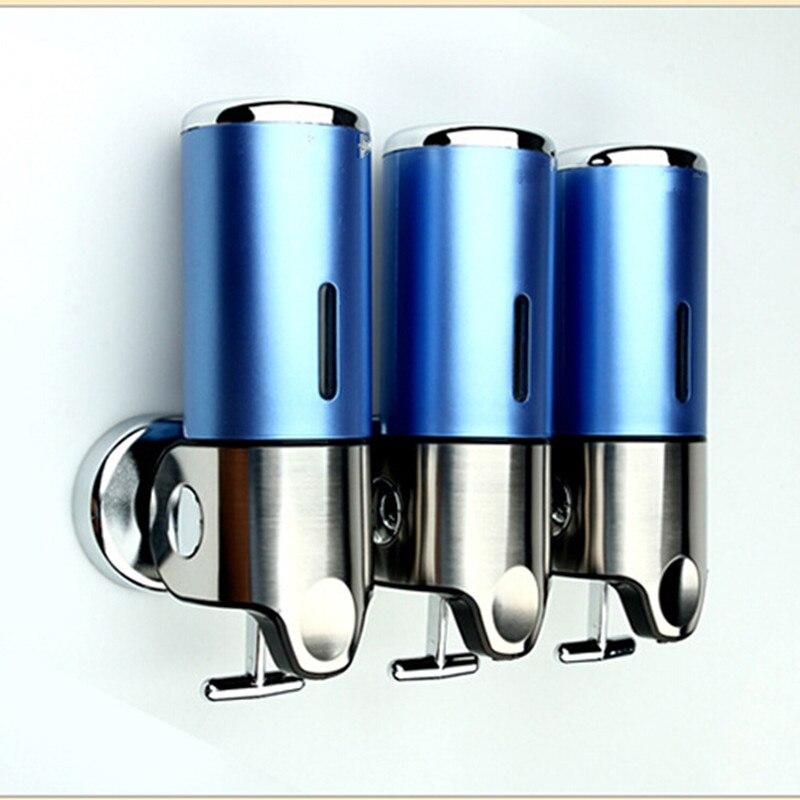 Cuarto de ba o ducha jab n dispense 500ml 3 champ de for Dispensador de jabon para ducha