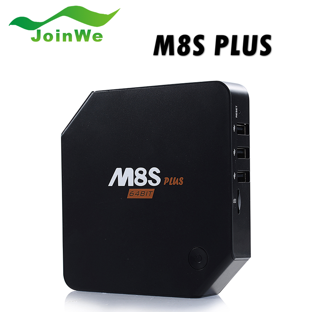 Android 5.1 TV Box M8S Plus M8s Set Top Box Amlogic S905 2G/16G Gigabit 2Wifi Bluetooth4.0 Kodi Pre-installed m8s plus amlogic s905 gigabit 2g 16g android5 1 4k tv box kodi