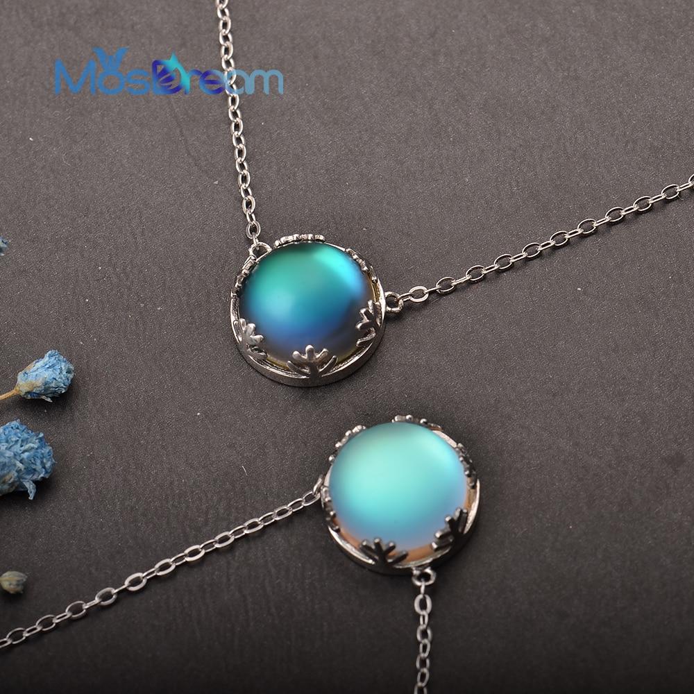 MosDream Ladies Fashion Aurora Borealis Necklace