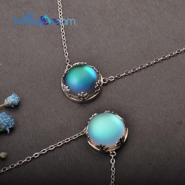 MosDream Ladies Fashion Aurora Borealis Necklace 1