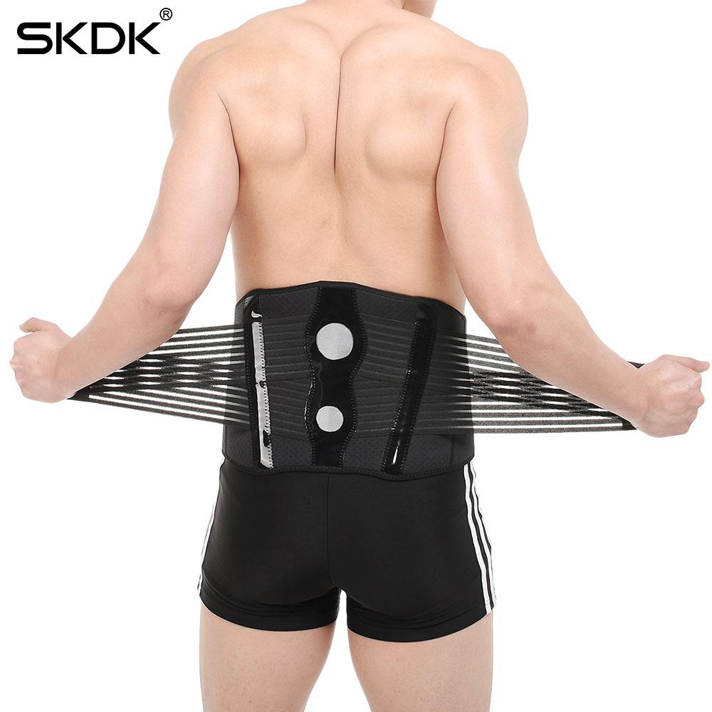 5b641300238 2019 SKDK Men Women Adjustable Elastic Waist Support Belt Lumbar ...