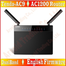 Eng-Firmware Tenda 802 11AC Dual Band 1200Mbps Wireless Wifi Router  Repeater 11AC 2 4G/5GHz 1000M