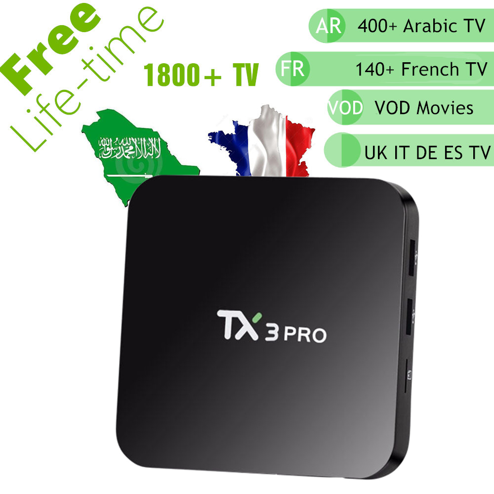 Streaming Media Player Global TV Channels IPTV box with 12 Months Prepaid IPTV 3000 Stick 2