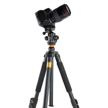 DHL Shopping Qingzhuangshidai Q471 SLR Camera Photography Pull Buckle Tripod Portable Travel Digital Tripod Ballhead Accessories