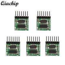 QIACHIP 5pcs 433mhz DC 12V RF Wireless Mini Low Power Light Transmitter Module Remote Control Switch Transmitter Button EV1527