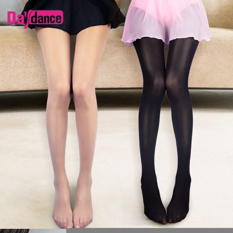 Nude brillante brillo medias mujeres, de alta elástico medias aceite brillante baile medias 70D