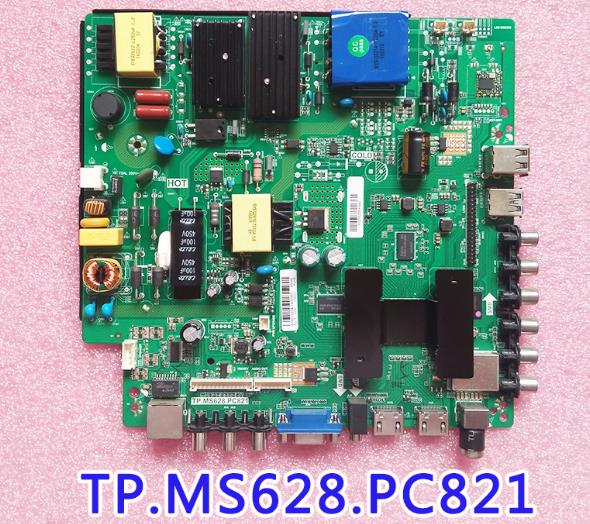 for LEHUA TP.MS628.PC821 Network drive board LCD TV main board android 4 nuclear WIFI.