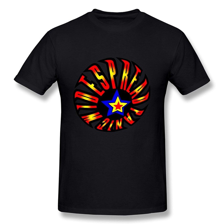 Print T Shirt Summer WunoD Mens Widespread Panic Fireball T-shirt Shirts Trend Clothing