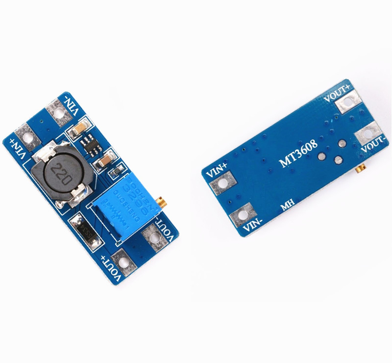 led driver 2 PCS MT3608 Step Up Power Supply Module 2 amp charger