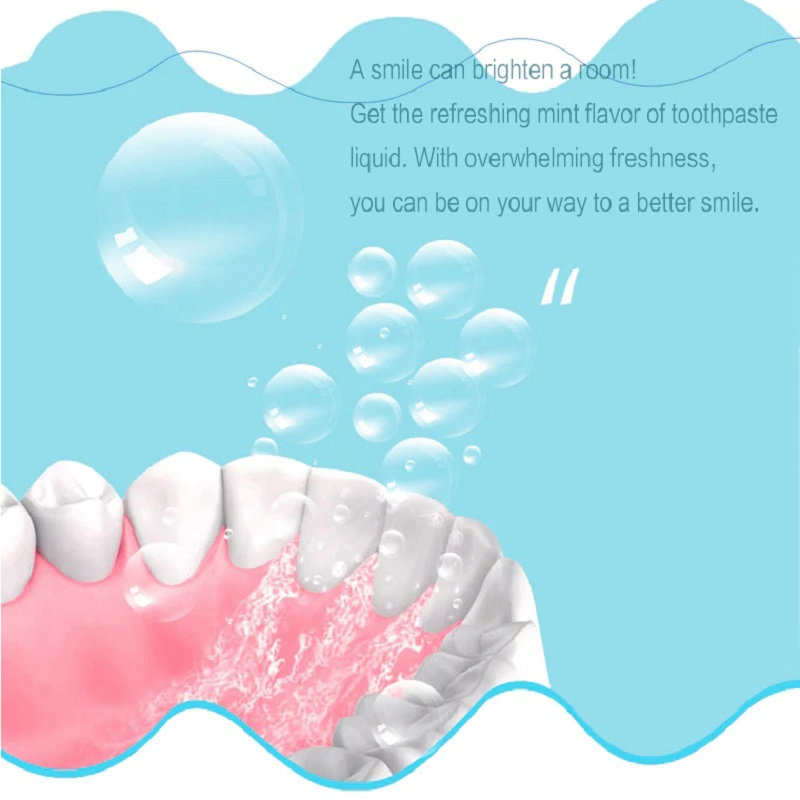 Liquid Toothpaste Apply to Automatic Electric Toothbrush Professional Teeth Whitening Liquid Toothpaste 2019 New in Teeth Whitening from Beauty Health