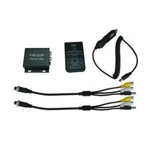 Image 5 - Neue FHD MDVR 1 Kanal 1080 p voll AHD H.264 Mobile DVR Recorder für Taxi Bus Fahrzeug 1CH mini auto dvr unterstützung max 128 gb sd karte