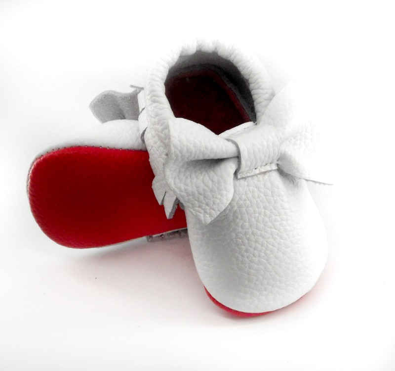 white red sole
