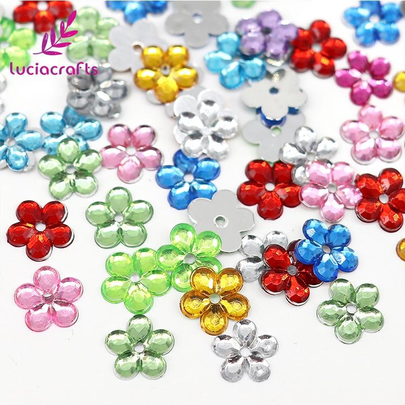 Lucia ремесла Мульти Размеры optionsсмешанные цвета цветок дизайн акрил горный хрусталь книги по искусству Стразы для DIY 21011203