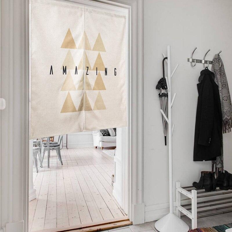 Style Scandinave gros tissu rideaux de mode simple partition rideau ...