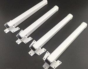 Image 1 - 4 ピース/ロット L: 28 センチメートルベッド折りたたみテーブル足ノートブックコンピュータ支援三脚テーブル脚平方フィート