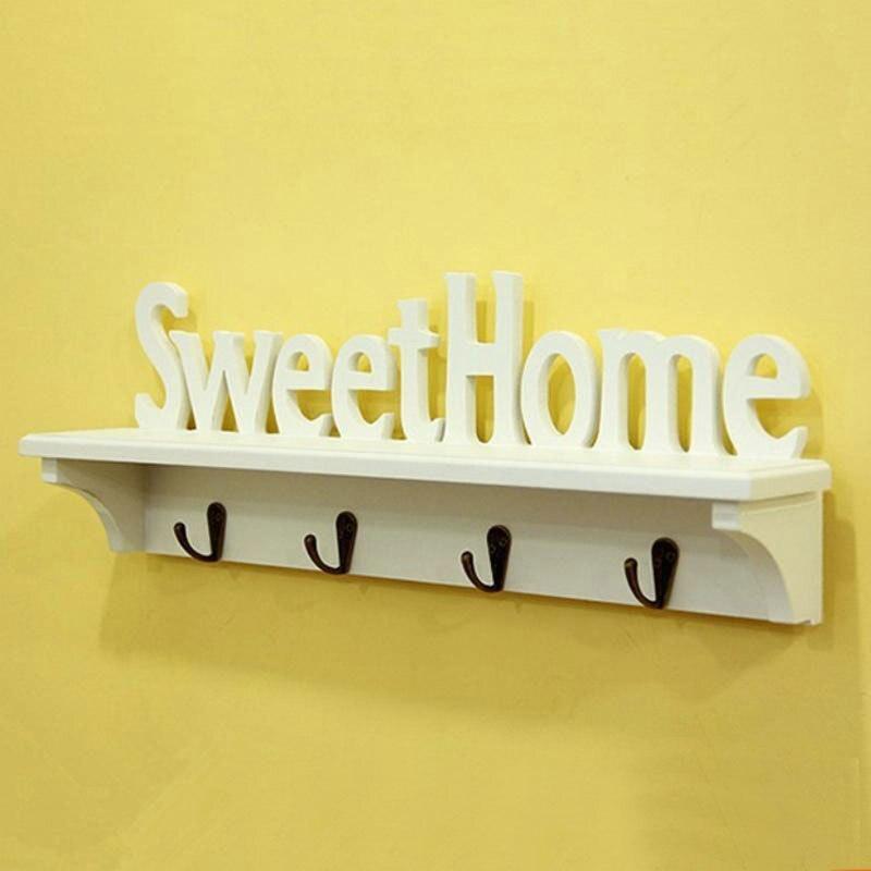 Moda estilo r stico decora o home sweet home da parede - Sweet home decora ...