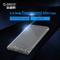ORICO 2 5 Inch Transparent HDD Case USB3 0 To Sata 3 0 Tool Free 5