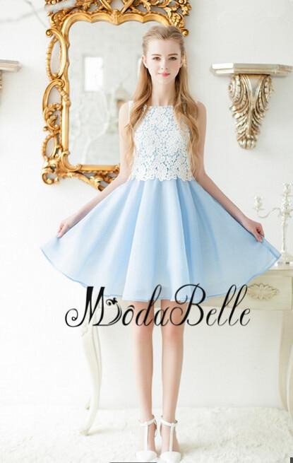 Online Get Cheap Short Light Blue Homecoming Dresses -Aliexpress ...