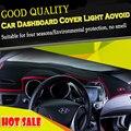 O envio gratuito de 100% verde material de fibra Tampa Do Painel Do Carro Luz Aovoid Pad Mat para Chery QQ A1 A3 A5 Tiggo Tiggos