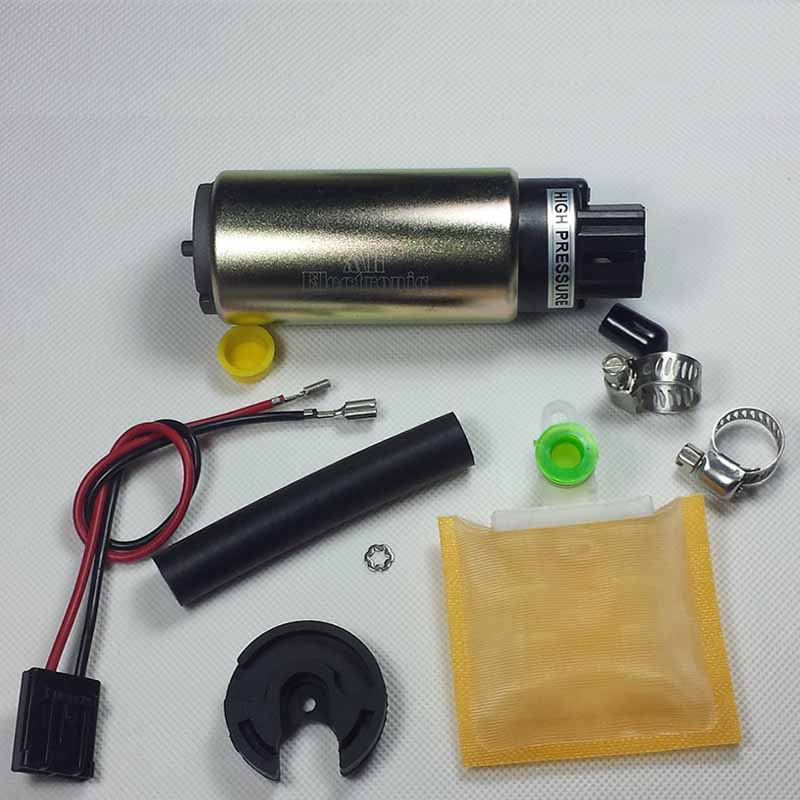 New Custom Electric Intank Fuel Pump w// Strainer+Clamps For Nissan Toyota E8335
