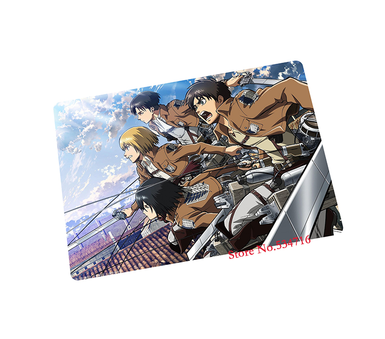 Attack on Titan mouse pad best seller gaming mouse pad gamer laptop large mousepad notbook computer pad to mouse play mat