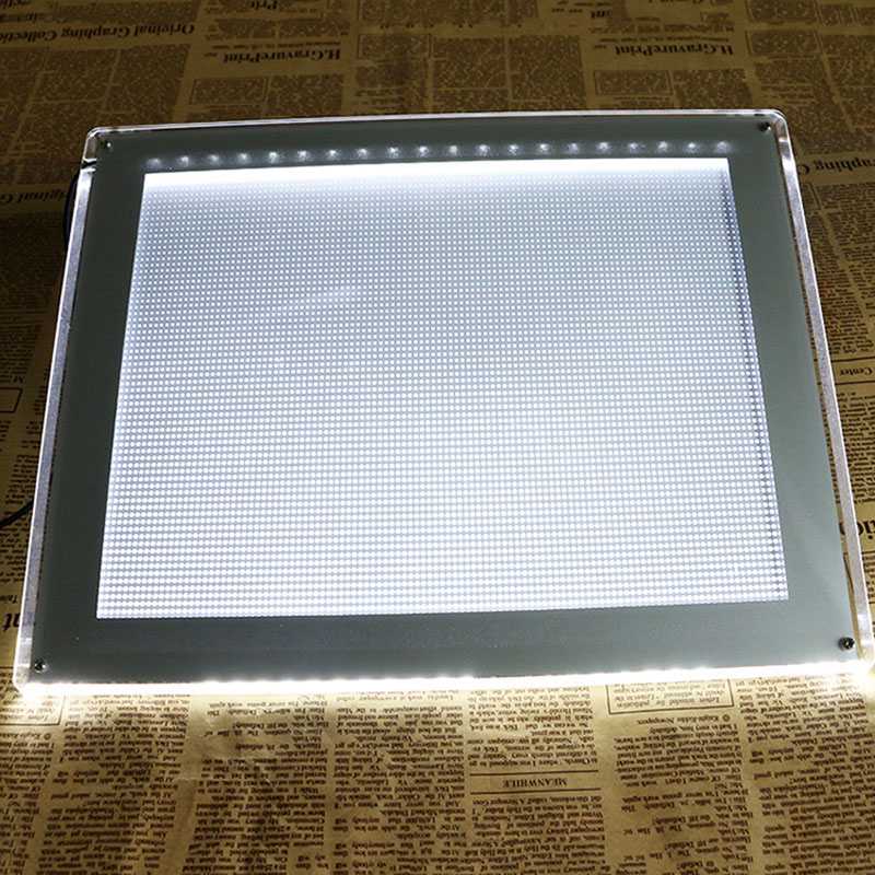 ФОТО YILONG 1PCS Super Thin A4 LED Drawing Copy Tracing Stencil Board Table Tattoo Pad Translucent Light Box USB Thin Style Less 8mm