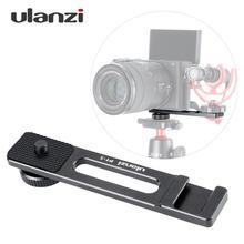 """Ulanzi PT-5 Vlogging крепление для микрофона подставка расширения плита пластинчастого типа 1/"""" винт крепления Холодный башмак для sony A6500 RXO II RX100 VI Камера"""