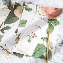 24pcs Letter Paper 12pcs Envelope Set Retro Peony Flower Writing Greeting Card School Gifts Stationary
