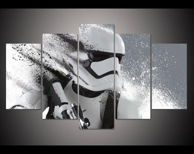 imprimir de star wars movie poster pintura modern home decor wall art imagen imprimir pintura al leo sobre lienzo de artept0002