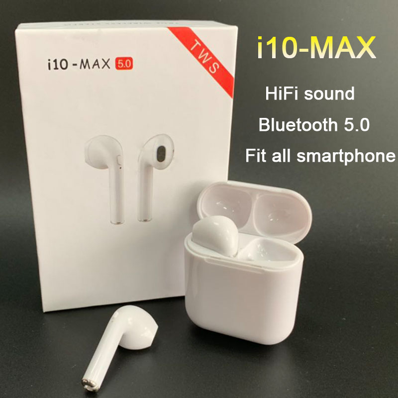 i10 Max <font><b>TWS</b></font> Bluetooth Earphone headphone i7s Wireless Earbuds Headset air dots For xiaomi huawei ios i9s vs i30 <font><b>i80</b></font> i10 image