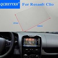 QCBXYYXH Car Styling 7 Cal Nawigacja GPS Ekran Szkło Ochronne Kontrola Ekran LCD Film Dla Renault Clio RS Samochodów naklejki