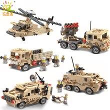 Blocos de Construção Figuras Tijolos Carros Aviões Helicóptero Do Exército militar Arma Compatível Legoe ww2 Brinquedos Educativos Para Crianças