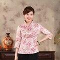 Nuevas mujeres de la Llegada Chaqueta de Estilo de la Tradición China prendas de Vestir Exteriores de la Chaqueta Capa de La Manera Ml XL XXL 3XL