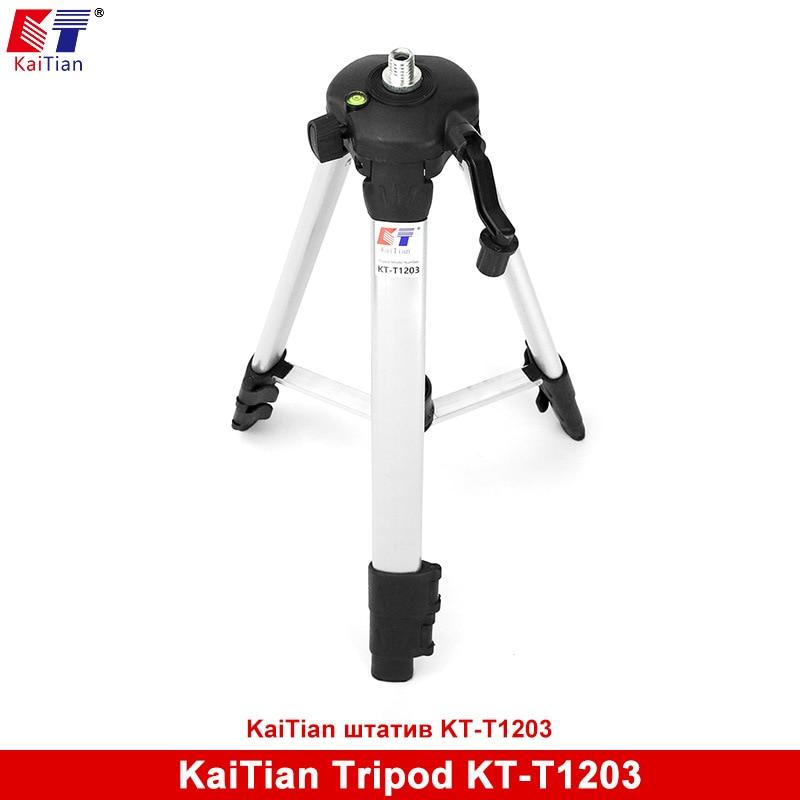 Kaitian Laser Level font b Tripod b font for Adjustable Rod Leveling Bubble 5 8 Inch