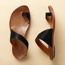 Summer New Sandals Female European Station Wish Hot Fashion Wild Color Toe Flat