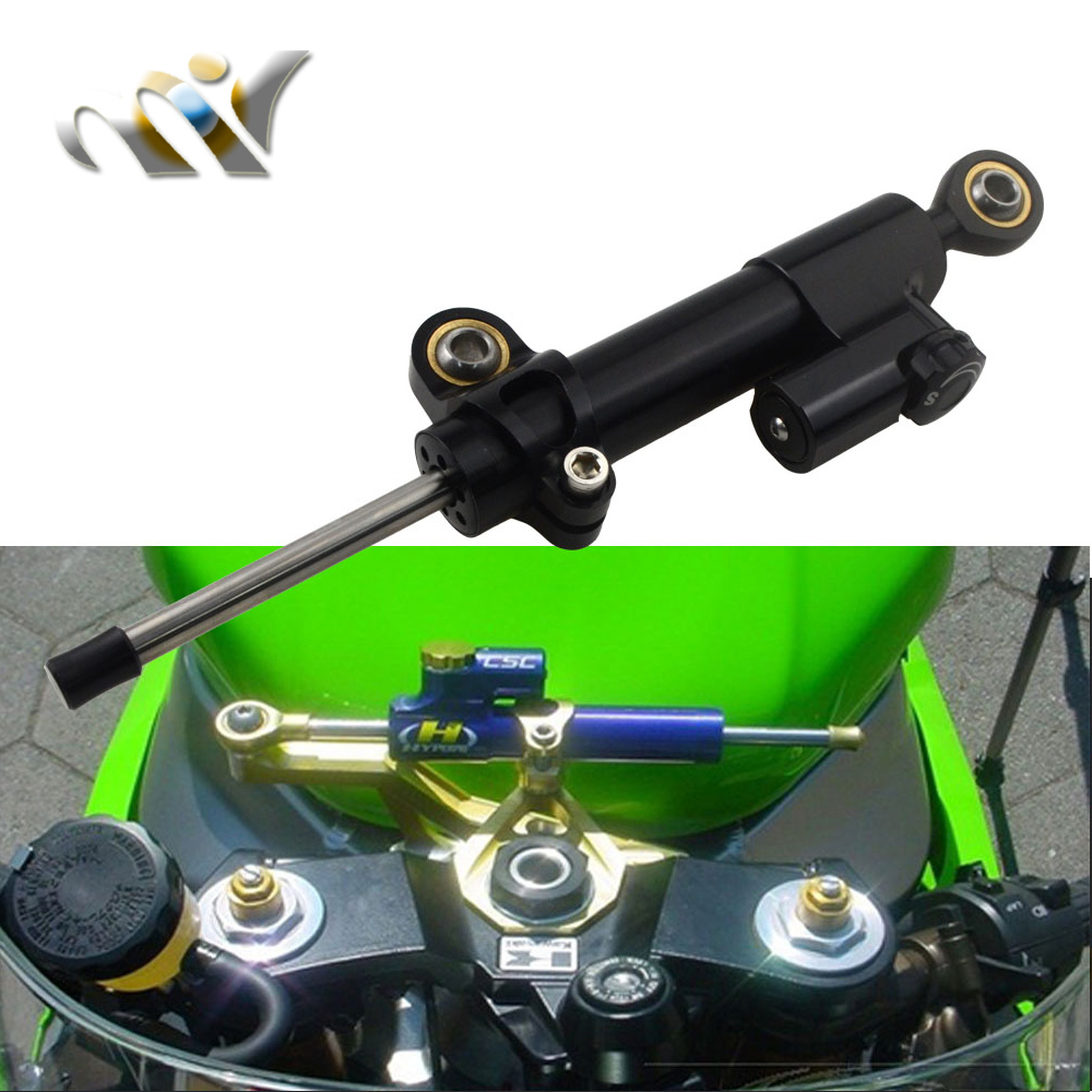 Motorcycle CNC Aluminium Steering Stabilizer Damper Reversed Safety Control For DUCATI Monster 1100 1100S 695 696