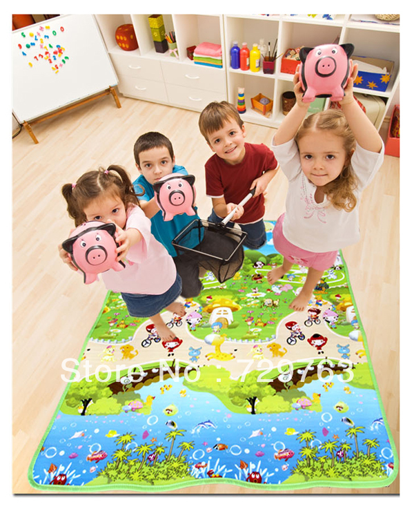 Epe Foam Single Side Cartoon Pictures Baby Crawling Mat