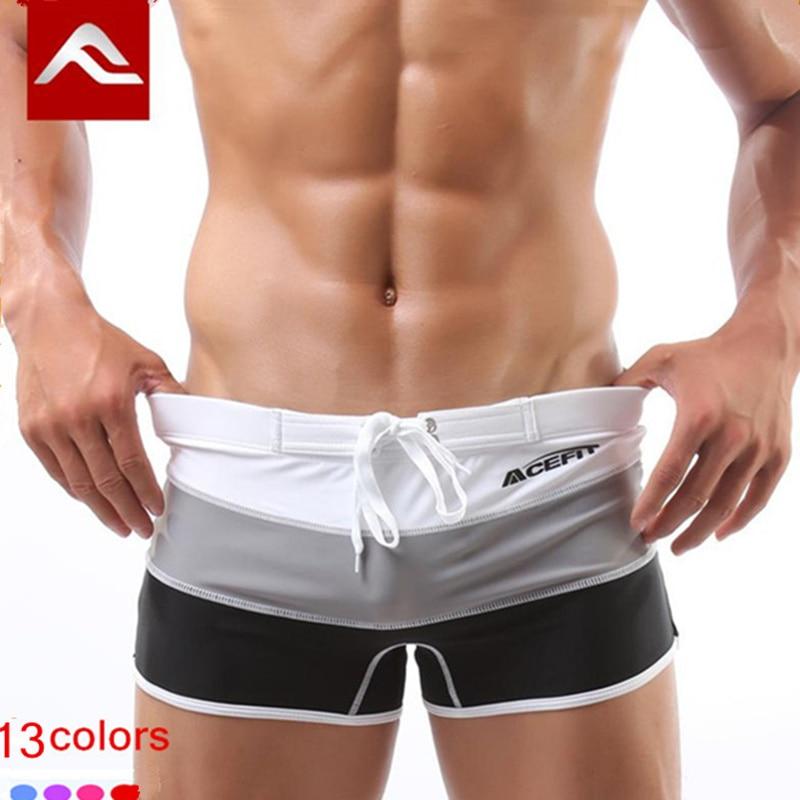 Aliexpress.com Comprar 2016 hombres de natación clásica estilo de moda traje de baño verano marca man beach shorts traje de baño sexy natación boxer para