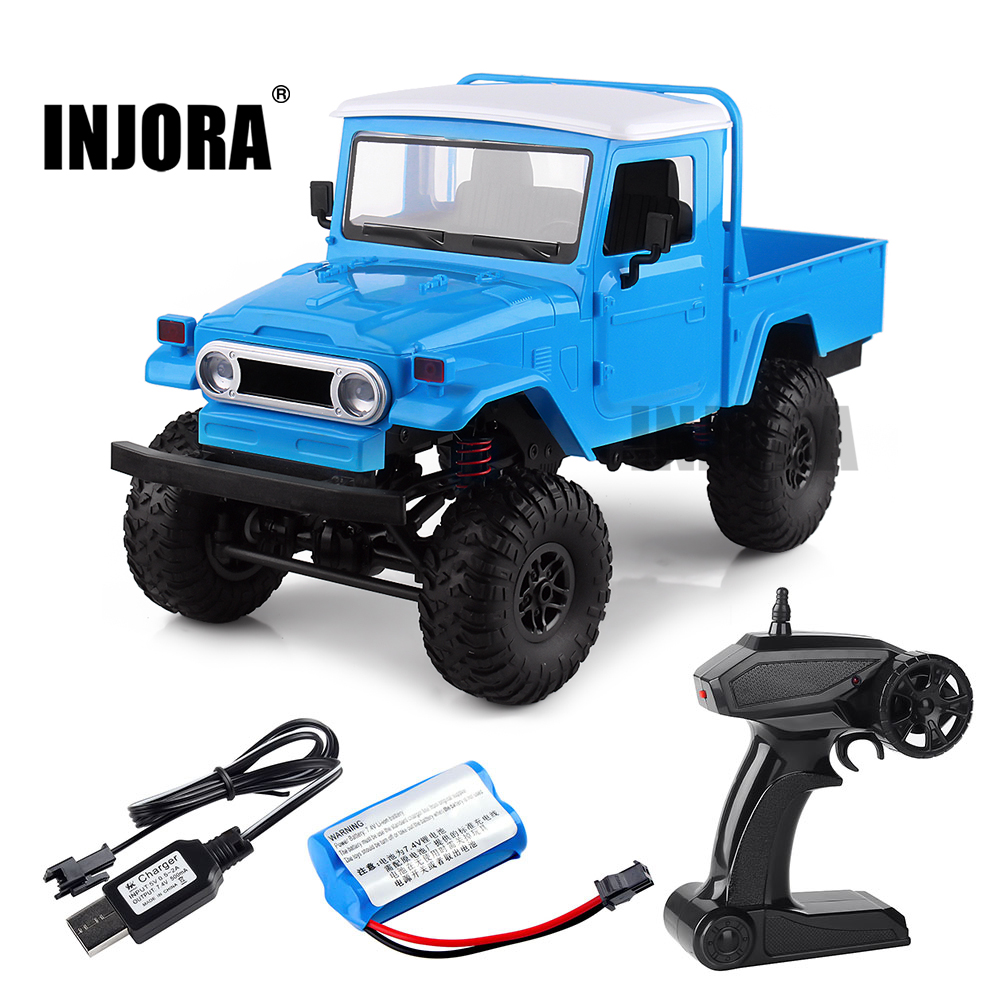 MN-45 WPL FJ45 1:12 Scale RC Car RTR Version 2.4G 4WD RC Rock Crawler RC Remote Control Truck Toys Children GiftMN-45 WPL FJ45 1:12 Scale RC Car RTR Version 2.4G 4WD RC Rock Crawler RC Remote Control Truck Toys Children Gift