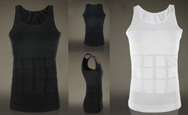 Men Firm Tummy Belly Buster Control Slimming Body Shaper Vest Underwear Shirt