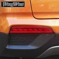 Car Styling LED Rear Bumper Warning Light For Hyundai Creta IX25 2014 2016 Brake Light Rear
