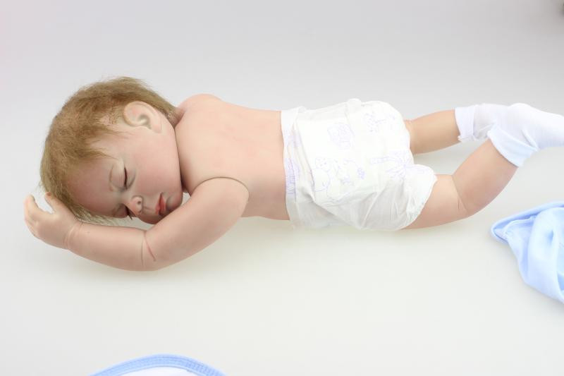 ୧ʕ ʔ୨45 cm realista dormir muñeca con ropa para niños regalo, 18 ...
