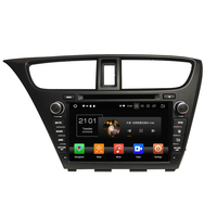 KLYDE 8 2 Din 8 Core Android 8.0 Car DVD Player For Honda Civic 2014 Stereo 32GB Car R
