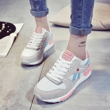 Korean version of the new casual shoes heavy-bottomed women shoes breathable Mesh shoes
