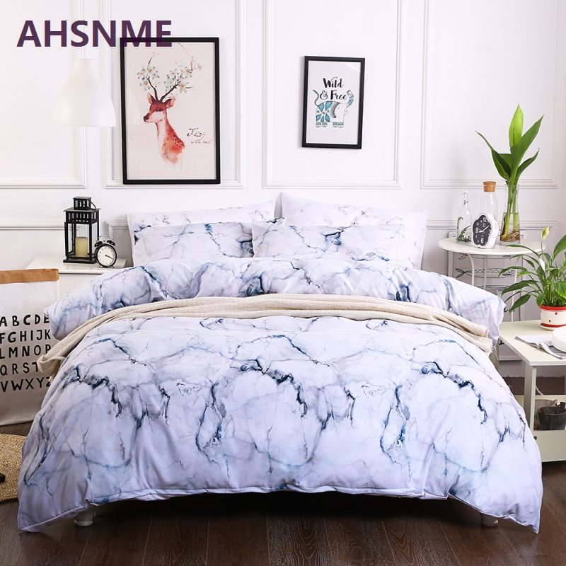 Smart Home Diligent 100% Cotton Bedding Set Fitted Sheet Mattress Cover Printing Bedlinens Bed Sheets Bed Clothes Twin Full Queen 1pc