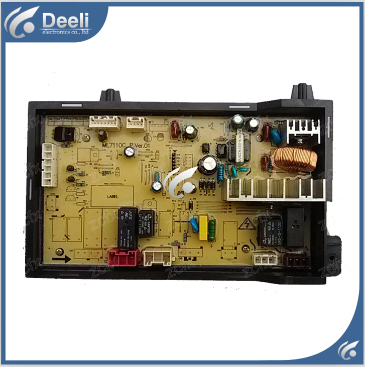 Free shipping 95% new original for Washing Machine drum computer board XQG55-7110C board free shipping 95