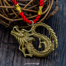 Flying dragon keychain brass handmade key chain gold fashion ring HandBag Pendant