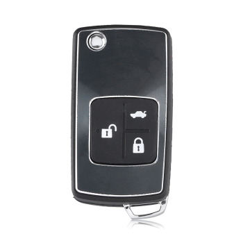 Chiave Telecomando per Chevrolet Epica 3 Tasti Remote Control Flip Folding Keyless Entry Remote Car Key Case Auto Right Blade 1
